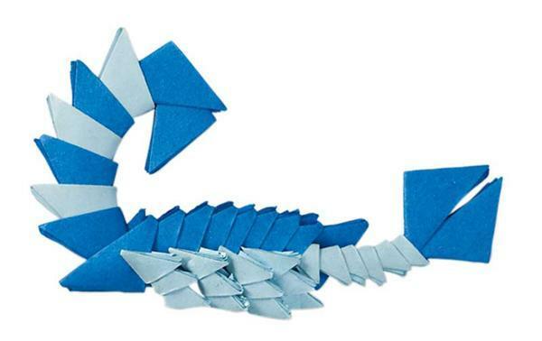 Papier à plier mini - 500 pces, 5 x 5 cm