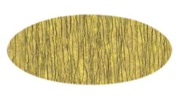 Papier crêpon - 50 cm, or