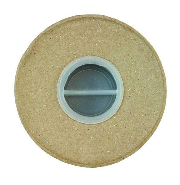 Papier-maché spaarpot, 8 x 12 cm
