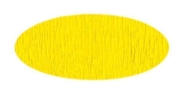Papier crêpon - 50 cm, jaune