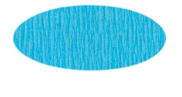 Knutselcrêpe - 50 cm, lichtblauw