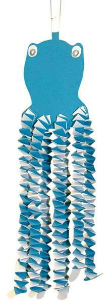 Bastelkrepp - 50 cm, lichtblau