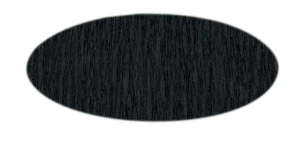 Papier crêpon - 50 cm, noir