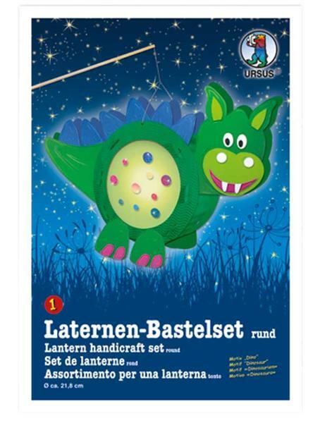 Laternen-Bastelset, Dino