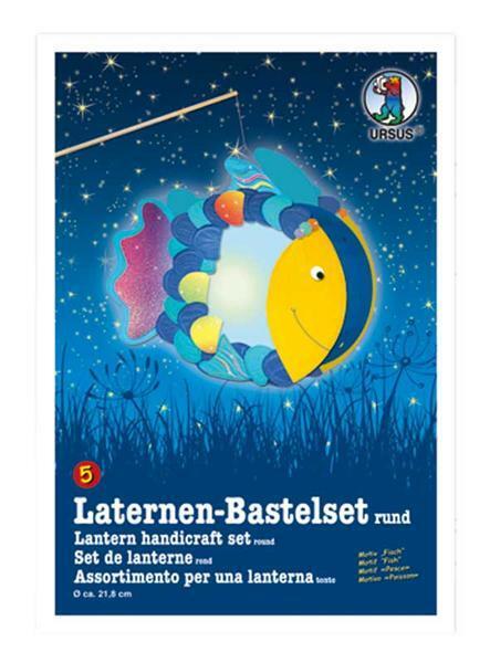 Set pour lanterne, poisson