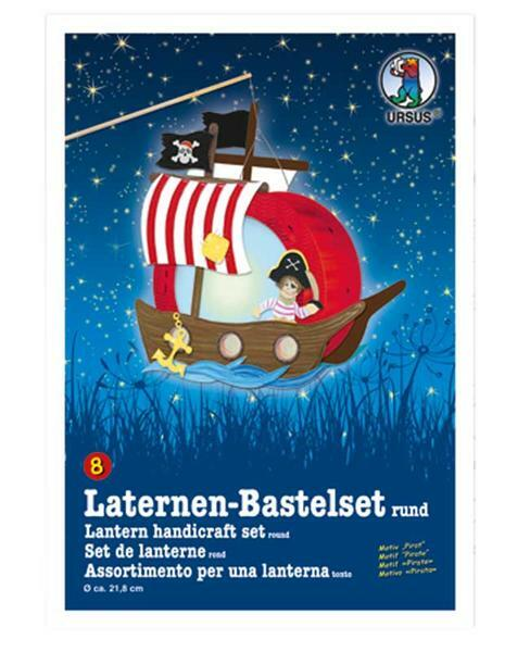 Lampion-knutselset, piraat