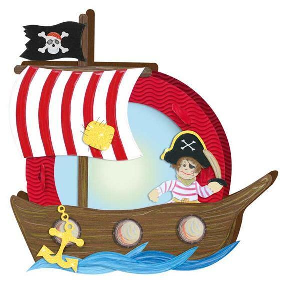 Lampion-knutselset, piraat