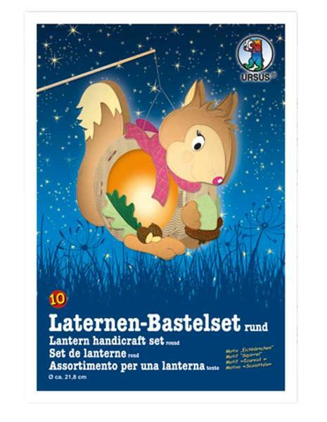 Laternen-Bastelset, Eichhörnchen