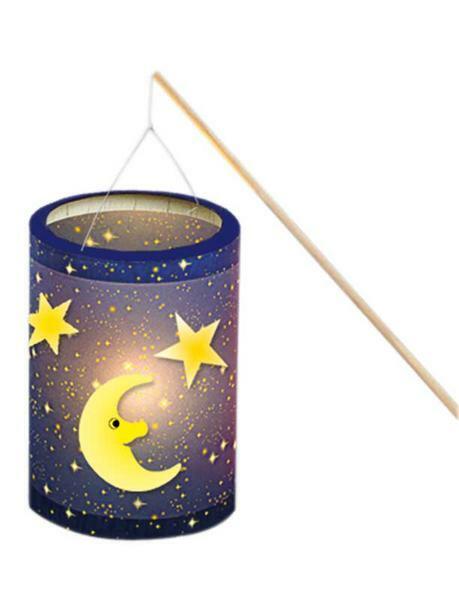 Set pour lanterne, ciel étoilé