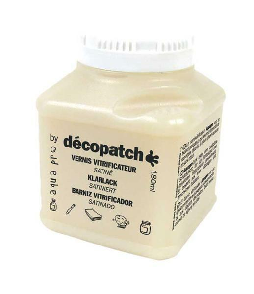 Decopatch Klarlack Aquapro, 180 g