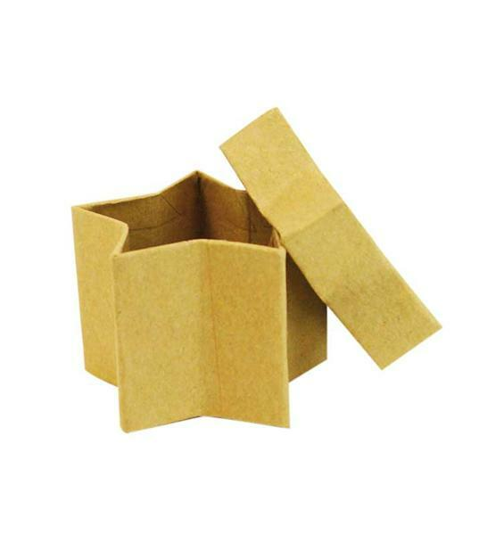 Pappmache Boxen - Sterne Set, 25 Stk.
