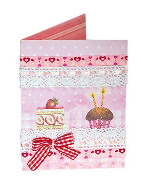 Stoffbänder - rot & rosa
