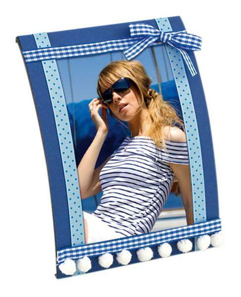 Stoffbänder - blau