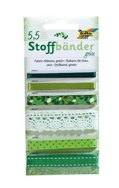 Stoffbänder - grün