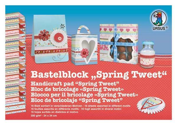 Knutselblok, Spring Tweed