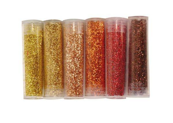 Set poudre pailletée - 30 g x 3 g