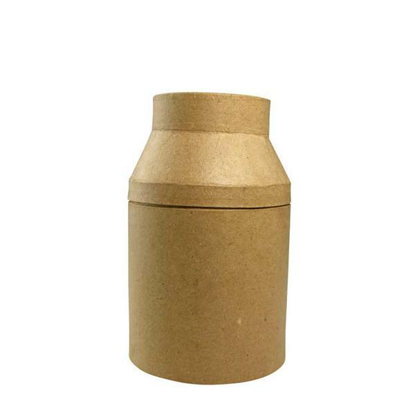 Pot de lait papier mâché, 23 cm