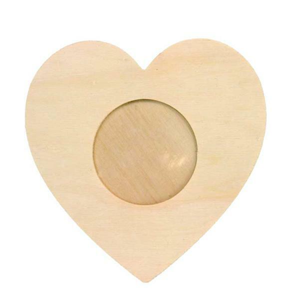 Fotolijst hart, Ø 15 cm