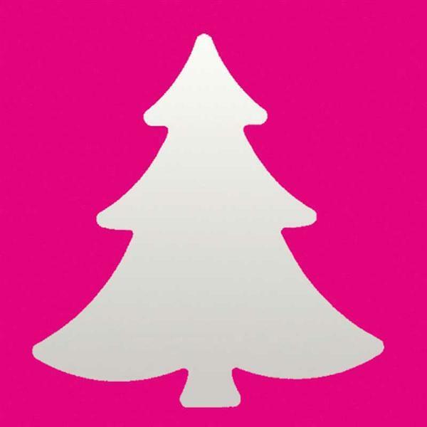 Motiefpons - dennenboom