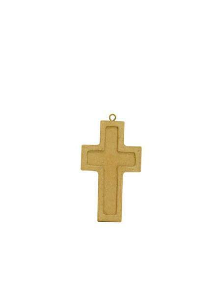 Pappmache Kreuz - klein, 10 x 6 cm
