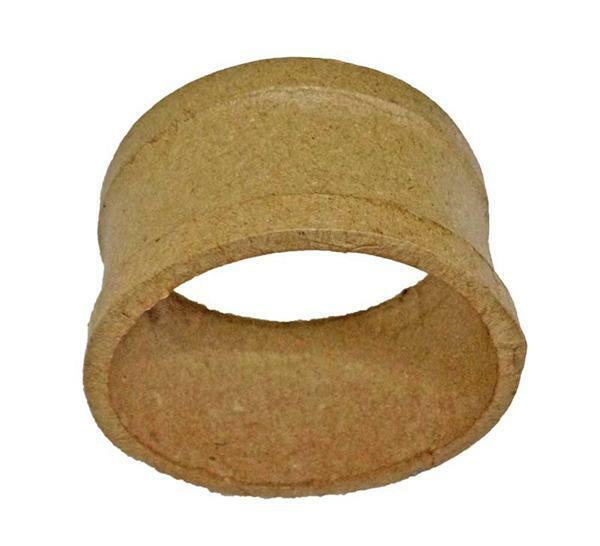 Papier-maché servetring, Ø 5,5 cm