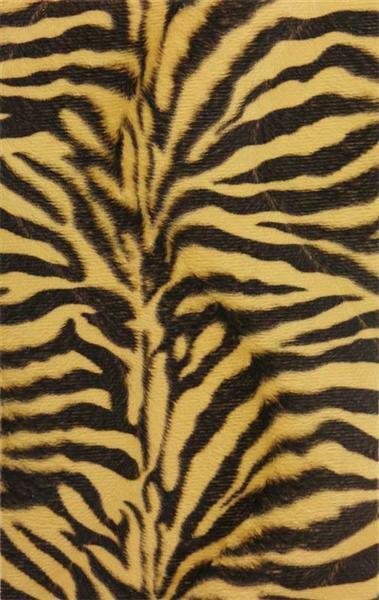 Tierfellplüsch - 17 x 27 cm, 5 Stk.