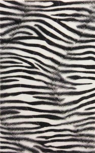 Tissu imitation fourrure - 17 x 27 cm, 5 pces