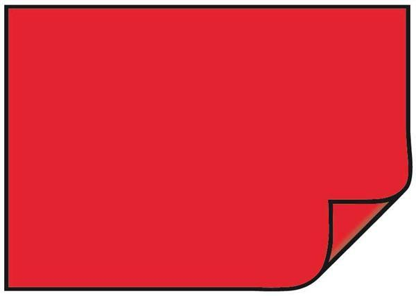 Papier dessin - 10 pces, 50 x 70 cm, rouge carmin