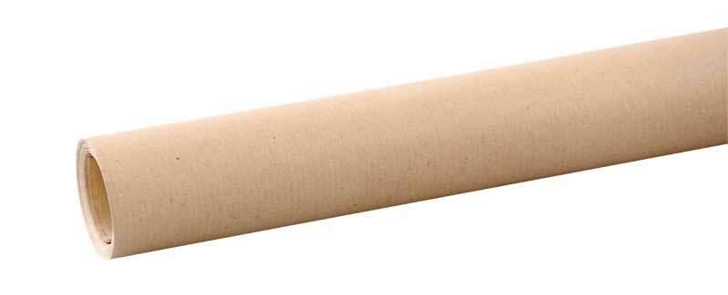 Papier cadeau - brun,  5 m x 70 cm