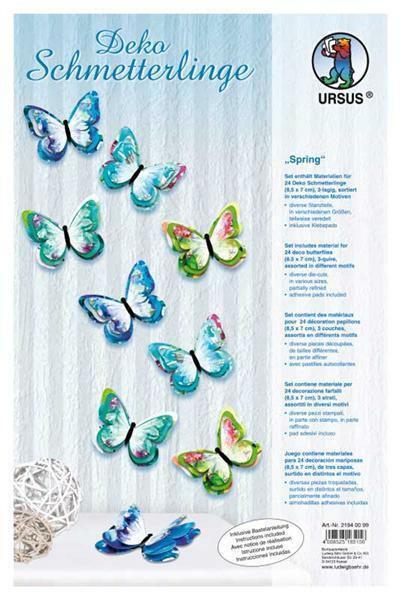 Deko Schmetterlinge - Spring