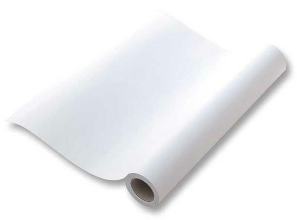 Tekenrol - 6 m, blanco