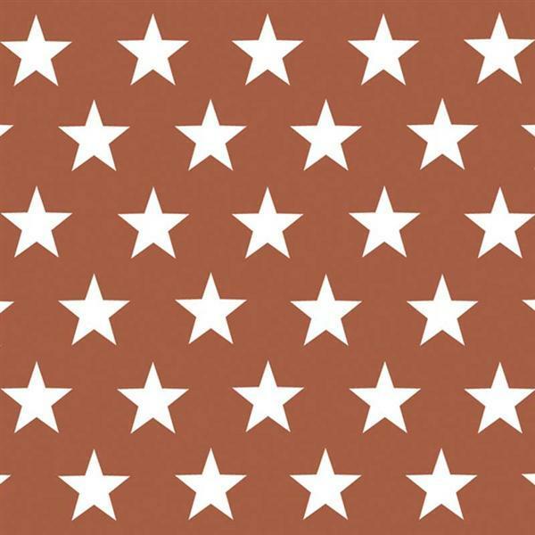 Serviettes - 20 pces, United Stars, cuivre