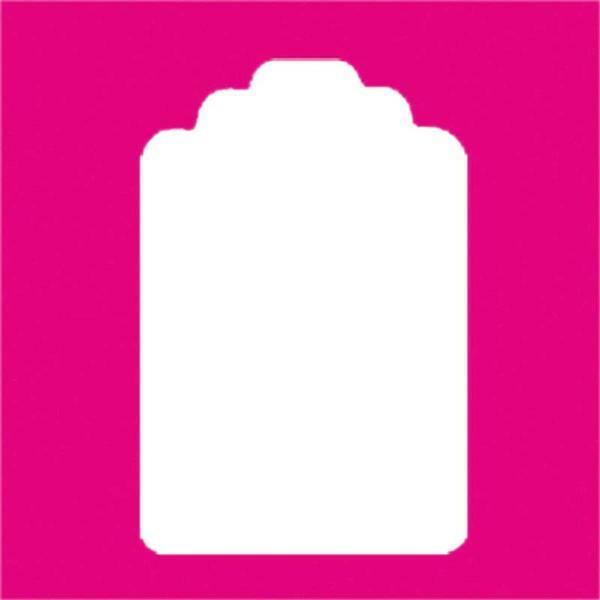 Motiefpons - etiket XL