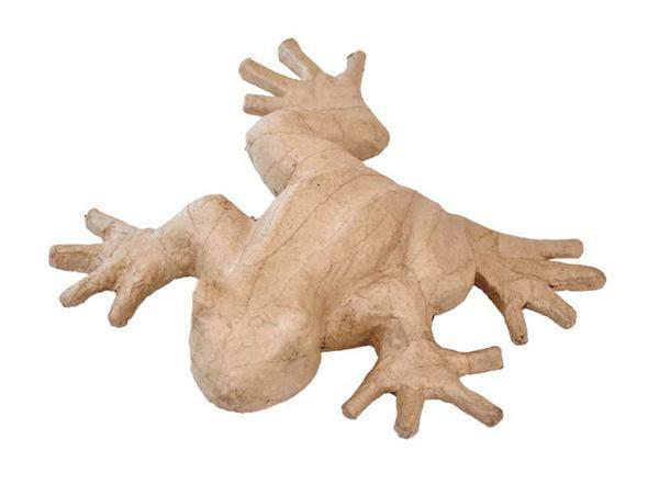 Pappmache Frosch,  25 x 20,5 cm