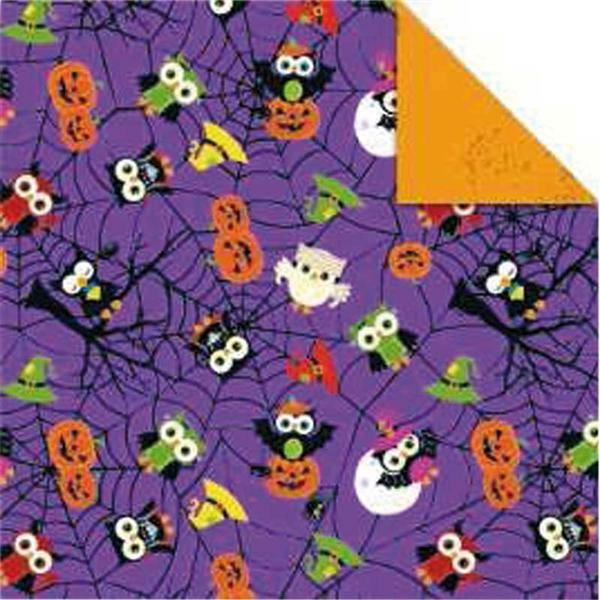 Faltblätter Halloween, 15 x 15 cm