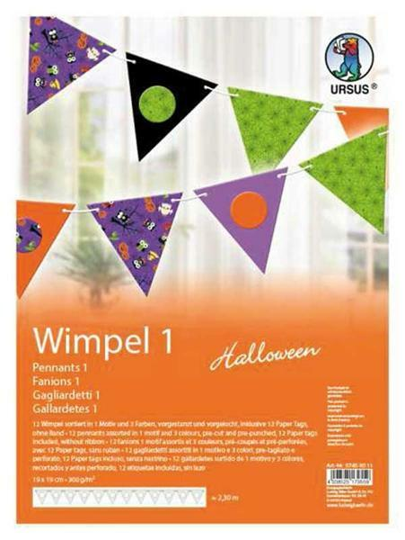 Wimpel - Halloween