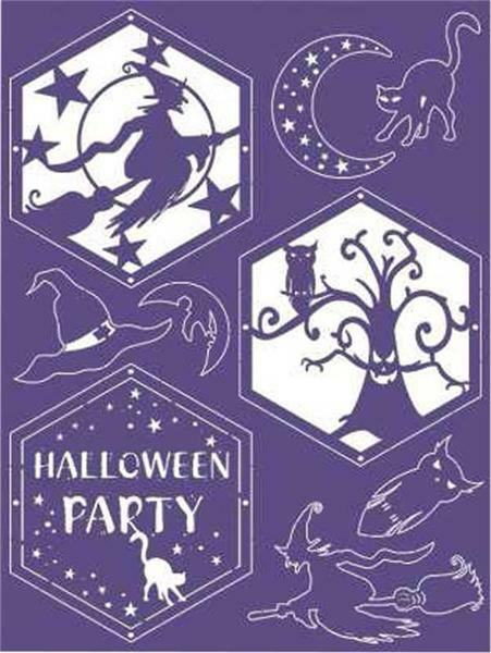 Decoratieve guirlande - Halloween