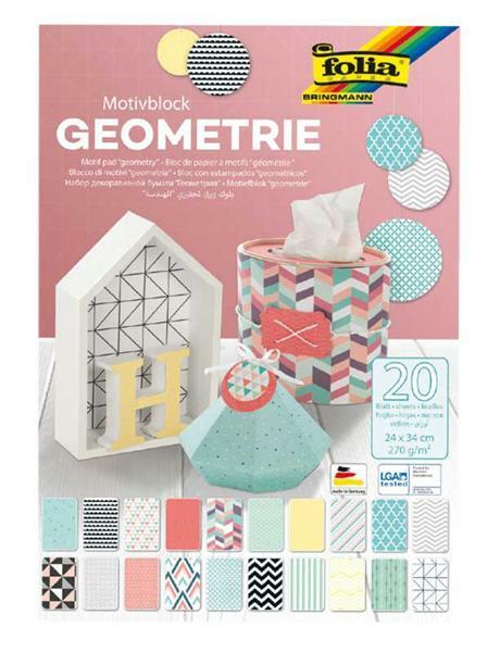 Bloc à motifs, Géométrie