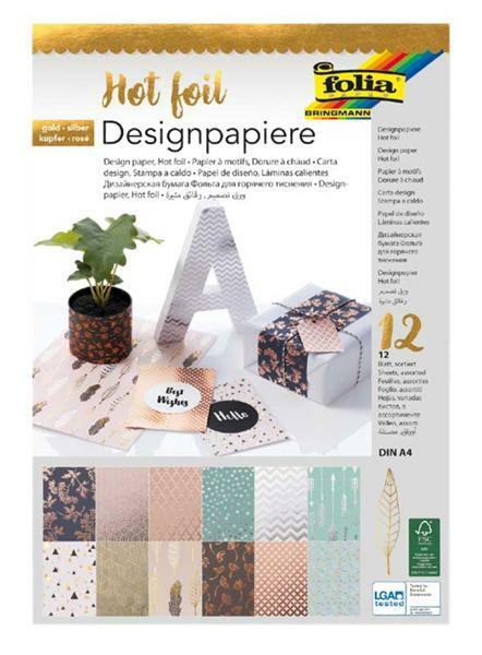 Design papier - Hot foil, klassiek