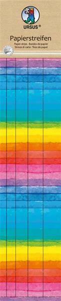 Papierstreifen Set -  regenbogen