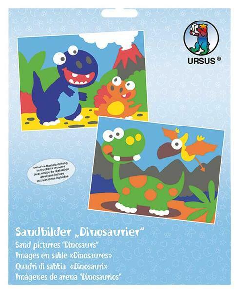 Sandbild Set - Dinosaurier