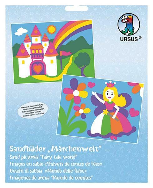Sandbild Set - Märchenwelt