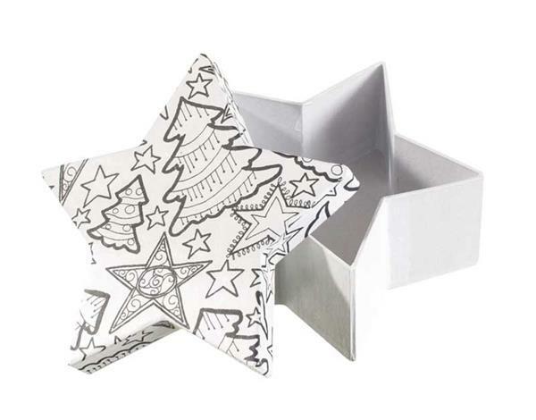 Papier-maché doos, DoodleArt - ster