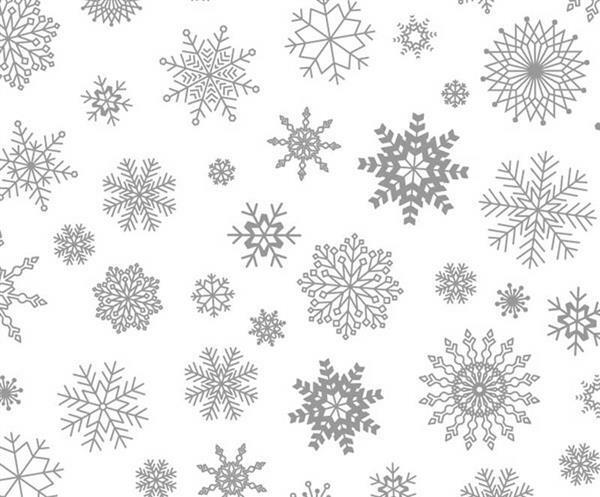 Papier magique - A4, Cristaux de glace
