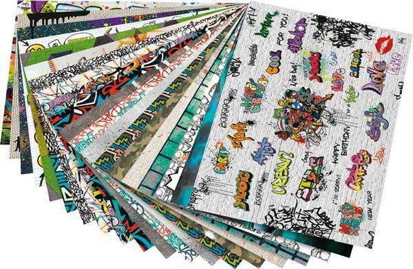 Bloc à motifs - Graffiti