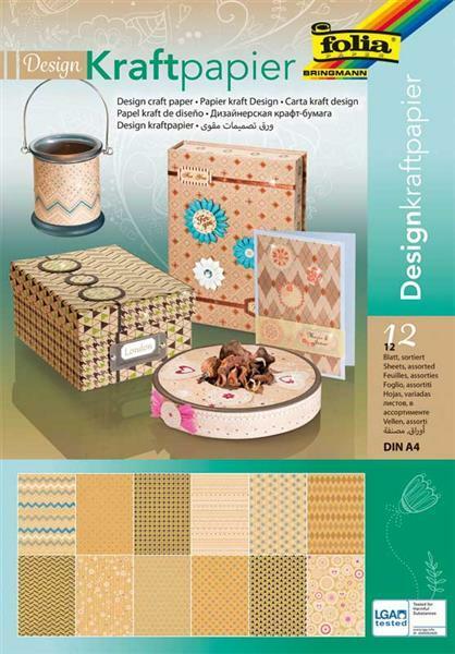 Designpapiere - Kraftpapier