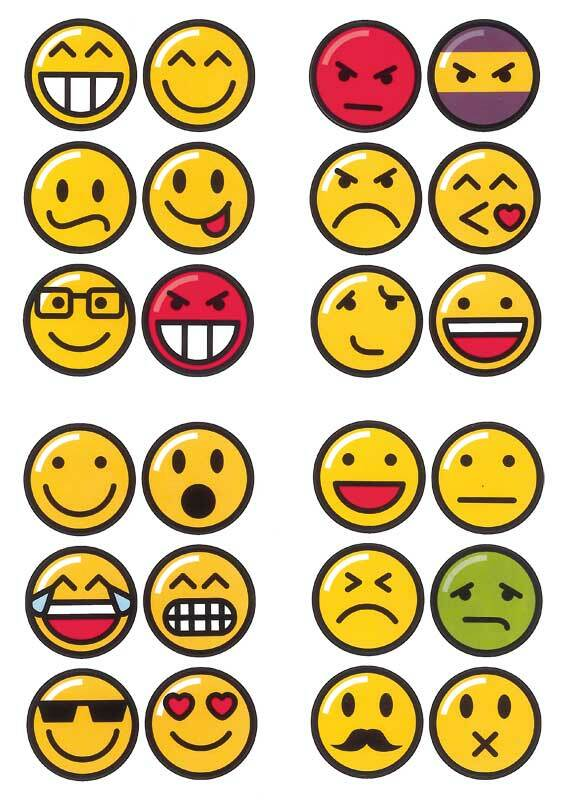 Sticker - emojis