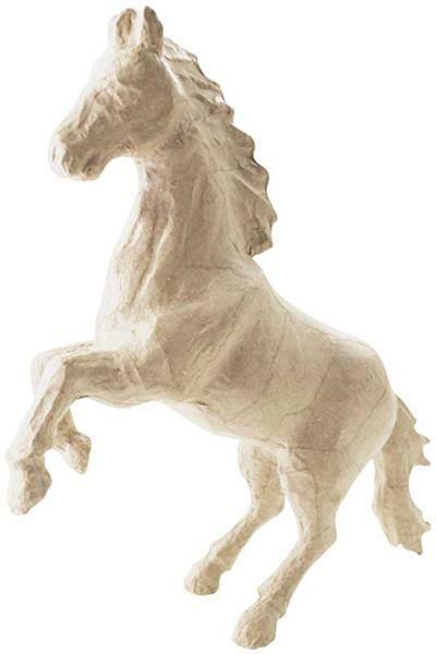Pappmache Pferd - groß, 19 x 23 cm