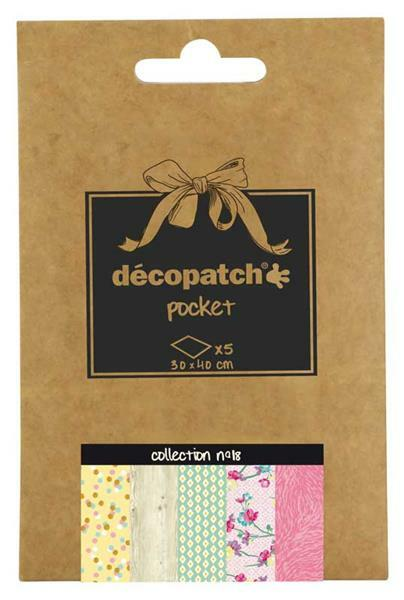 Décopatch Pocket - n° 18