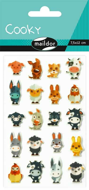 Stickers 3D - Animaux domestiques